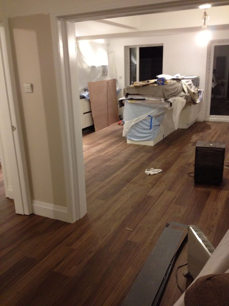 I Like The Warmth Of The Floors Karndean Van Gogh Walnut