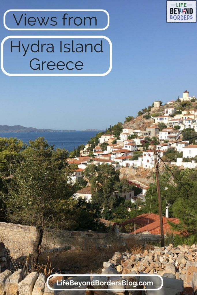 Views from the beautiful island of Hydra, Greece
