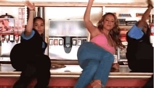 When you see your ex for the first time since you broke up and you're lookin' sexy as hell. | This Mariah Carey GIF Is Applicable To Everything Good That Has Ever Happened To You