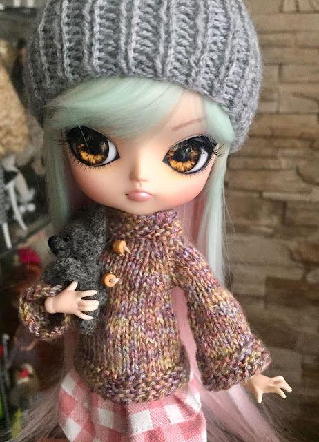 Mój lalkowy świat ...: Sakurka i jej skórzane butki.
