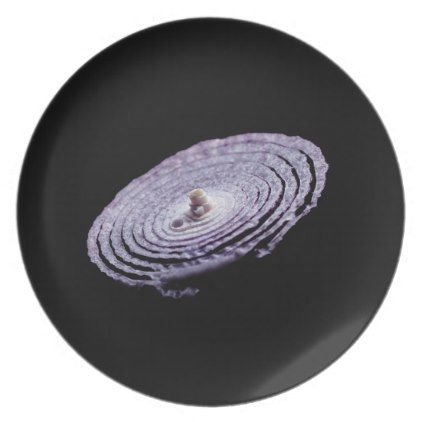 Red Onion Portrait Dinner Plate - kitchen gifts diy ideas decor special unique individual customized