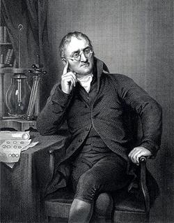 John Dalton father of modern atomic theory and my favorite scientist!! ^_^