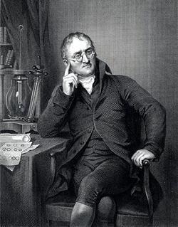 John Dalton father of modern atomic theory