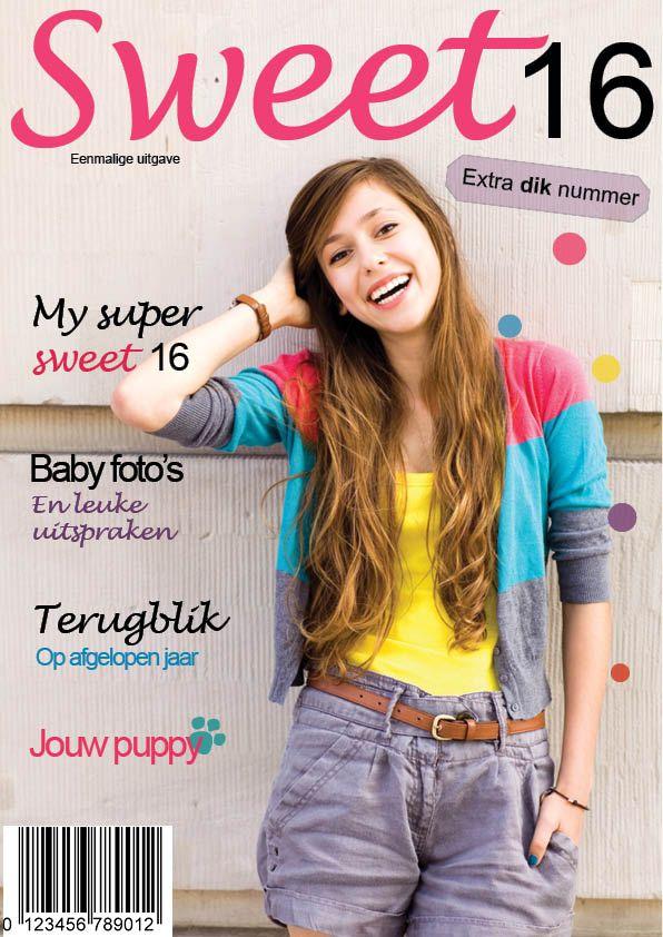 Sweet 16. Geef je vriendin of dochter een eigen glossy cadeau voor haar 16e verjaardag!