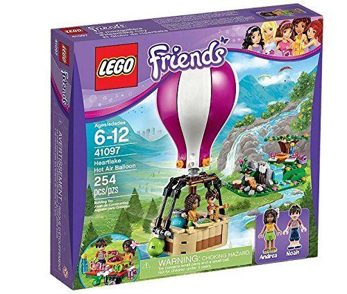 Lego 41097 - Friends - Heatlake Heißluftballon