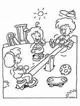 kleurplaat speeltuin schoolreis spelletjes kleurplaten