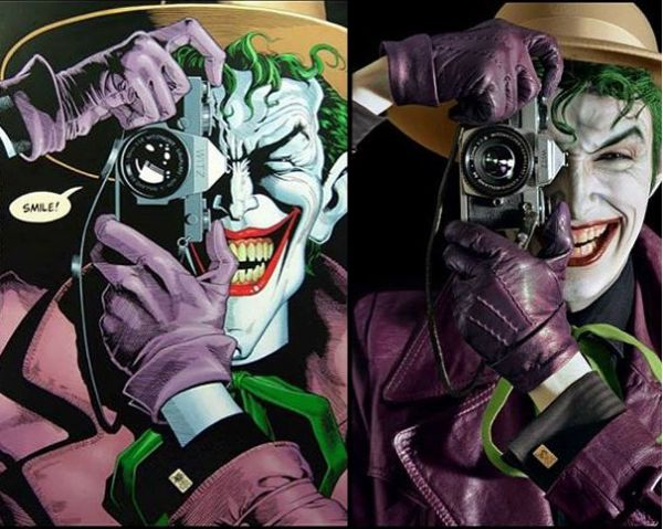 oker Cosplay  It's so identical!What do you think? Coser: harleys joker #cosplay #suicidesquad #suicidesquadcosplay #Movie #Moviecosplay #Joker #jokercosplay #amazingcosplay