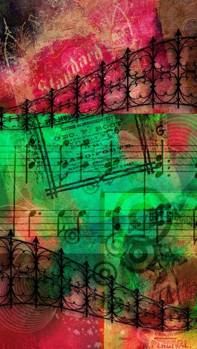 iPhone Wallpaper Music lovers wallpaper! Wood wallpaper