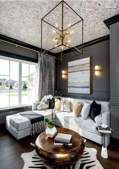 Various Small Living Room Ideas: 233 Best Ceilings Images On Pinterest