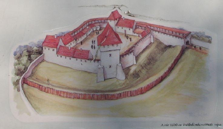 Ilyen lehetett fénykorában a Csobánci vár
