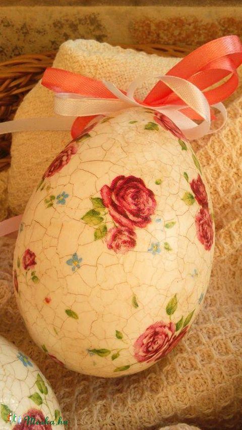Húsvéti tojás , Húsvéti apróságok, Férfiaknak, Mindenmás, Otthon, lakberendezés, Decoupage, szalvétatechnika, Festészet, Meska