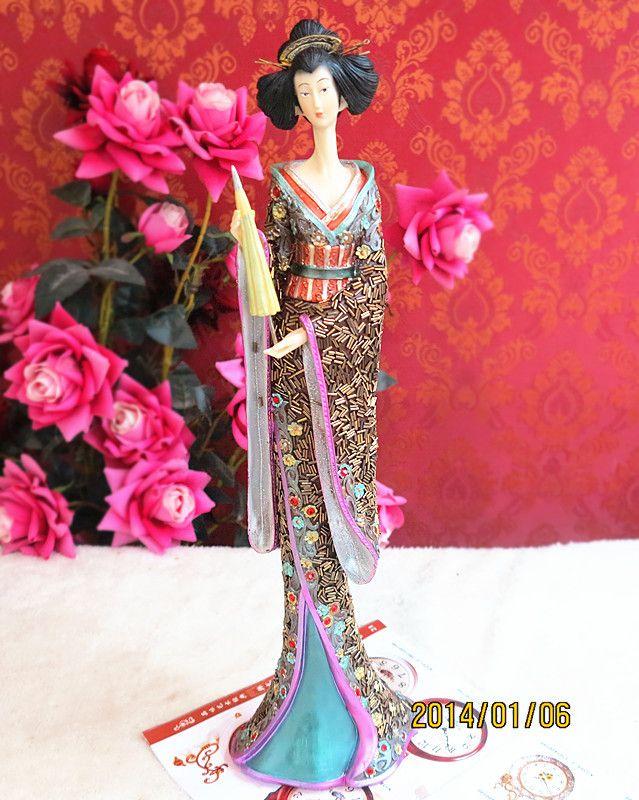 Barato Japonês de dança dança boneca do quimono japonês beleza japonês boneca de presente de aniversário, Compro Qualidade   diretamente de fornecedores da China: