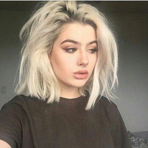 76 am besten gewählte süße kurze Frisuren Design für rundes Gesicht, das Sie lieben können - Seite 20 von 76