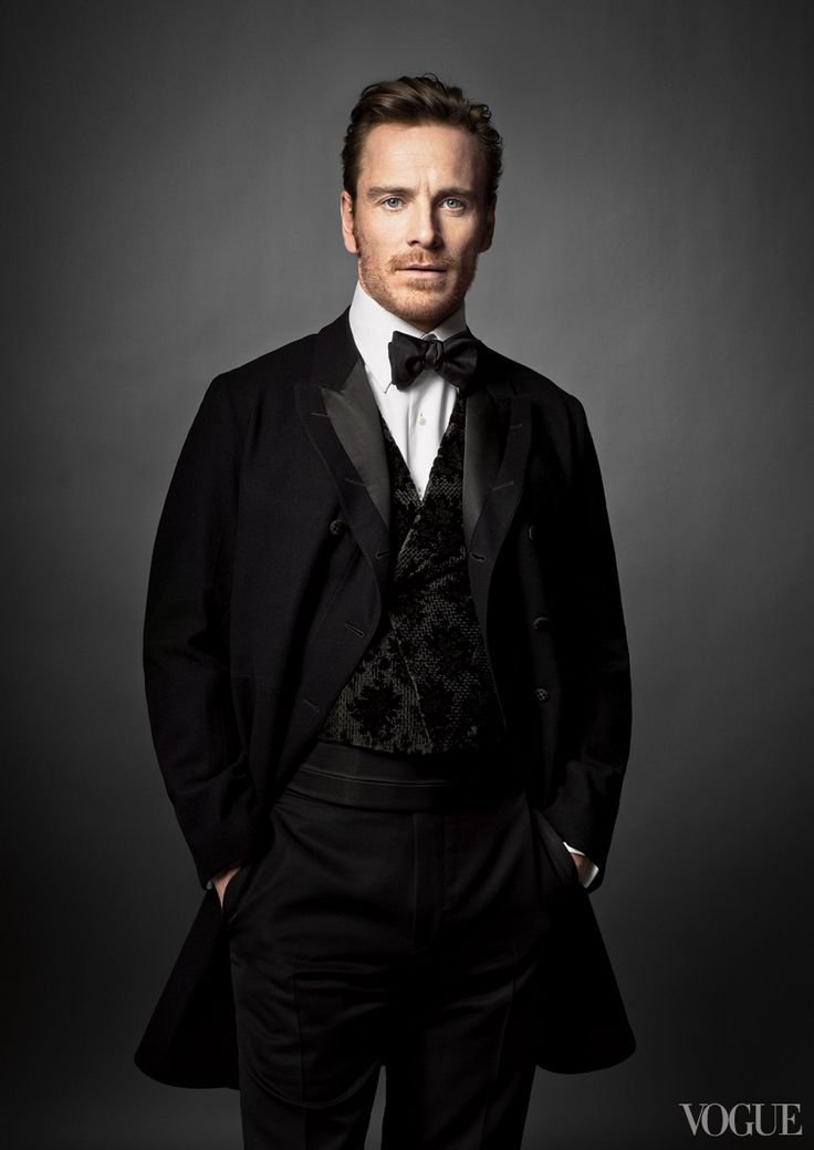 2014 Oscar Nominees in Vogue — Michael Fassbender, Best Actor in a Supporting Role, 12 Years a Slave I love him.