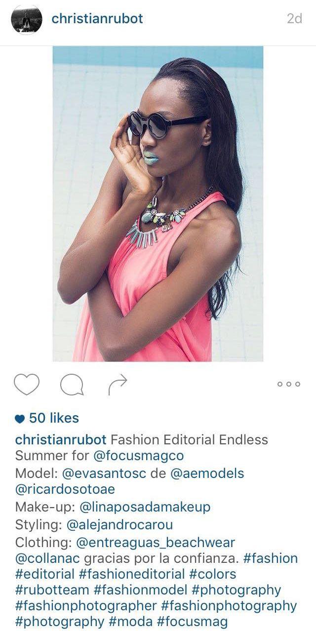 | #Entreaguas featured in Focus Magazine @focusmagco ph @christianrubot, model @evasantosc, make-up @linaposadamakeup, styling Alejandro Caro, Look 1 | #Fashion #Swimwear