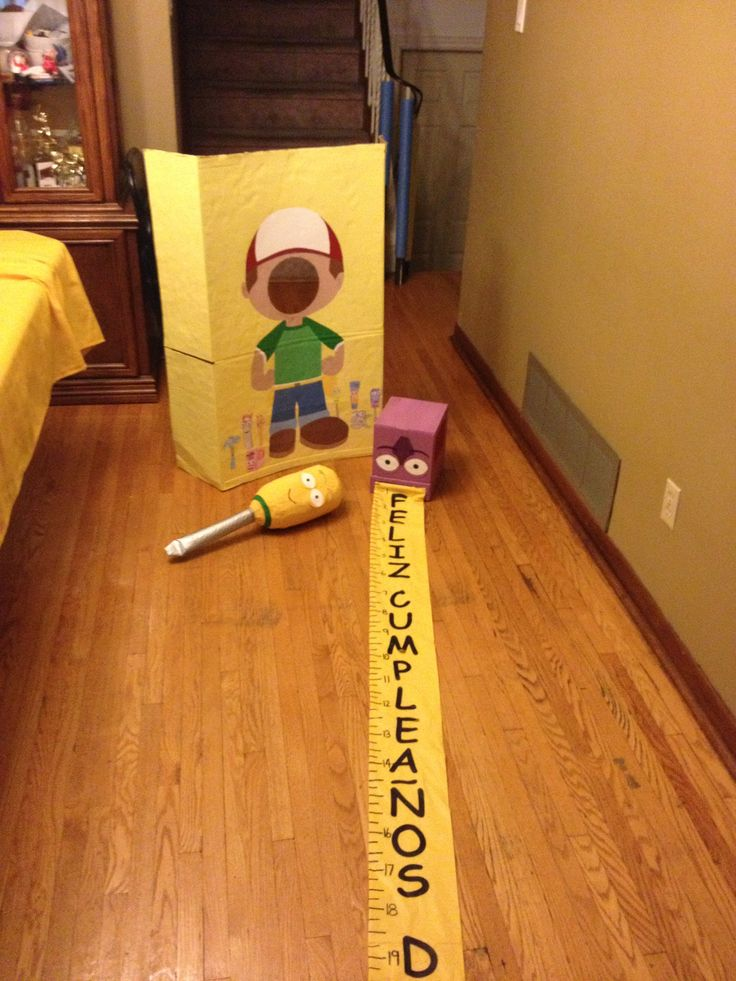 DYI Handy Manny props