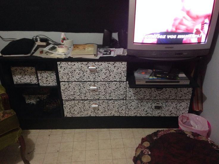 Transformer bureau en meuble télévision