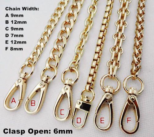 1mm = 0.039 inch 1cm = 0.39 duim  Het kan worden gebruikt voor de handtas, tas, schouderband tas. Aan beide uiteinden zijn er twee metalen gespen, waarmee u de ketting aan uw zak toevoegen.  Materiaal: Metal(Iron) Breedte: Zie foto s Hoeveelheid: 1 pc (inclusief 2 gespen)   =================================================================== ♥Shipping:  Zal het schip uit binnen 1-3 dagen, meestal duurt ongeveer 15-25 dagen aankomen, vriendelijk weten dat.    Maak een notitie voor uw…
