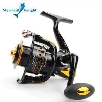 รีบเป็นเจ้าของ  MermaidKnight Fishing Reel12+1BB 5.5:1 Metal Spinning Peche FishWheel Spinning Reel Fishing Tackle 5000 - intl  ราคาเพียง  683 บาท  เท่านั้น คุณสมบัติ มีดังนี้ 13 axis fishing vessel Comfortable grip Fishing big fish necessary Wire cups are metal