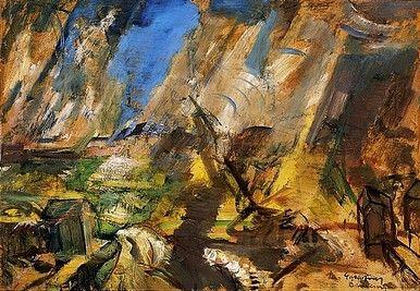 Egry József Vihar a Balatonon című festménye