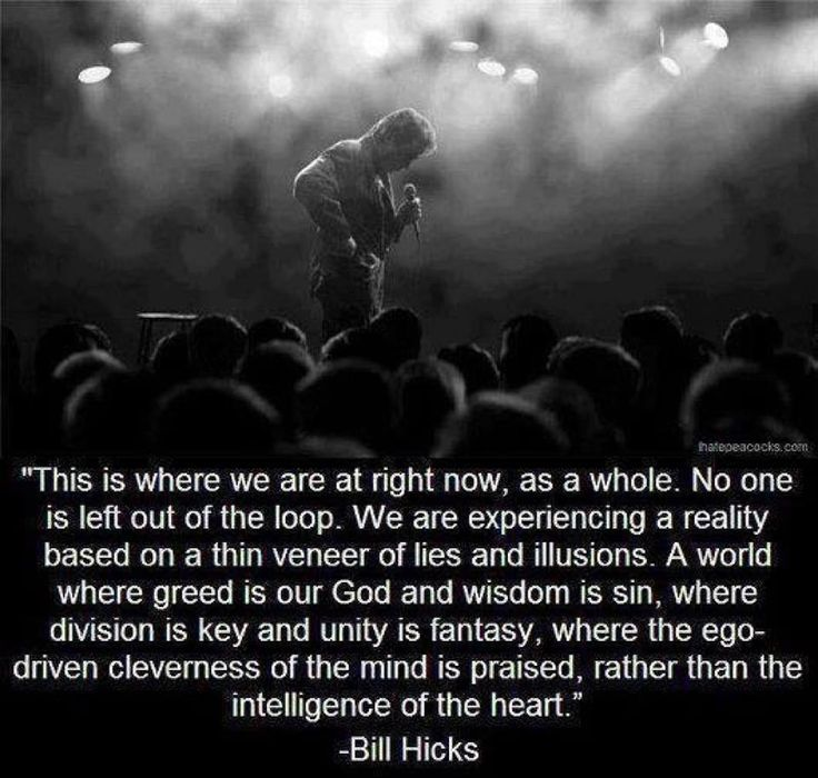 8905fdd8722894c6ba8d4ce34f1e8e38--bill-hicks-quotes-illusions.jpg
