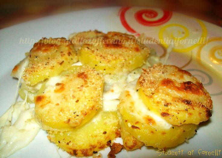 patate al latte gratinate ricetta gustosa