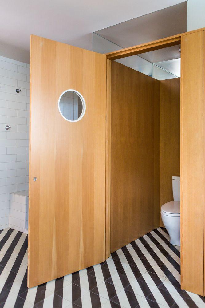 A Bright Geometric Bathroom Renovation In Los Angeles By Erika Heet