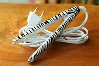 Moda Zebra Mini plancha de pelo profesionales Irons enderezado pelo Portable eléctrico enderezadoras rizador herramientas de peinado