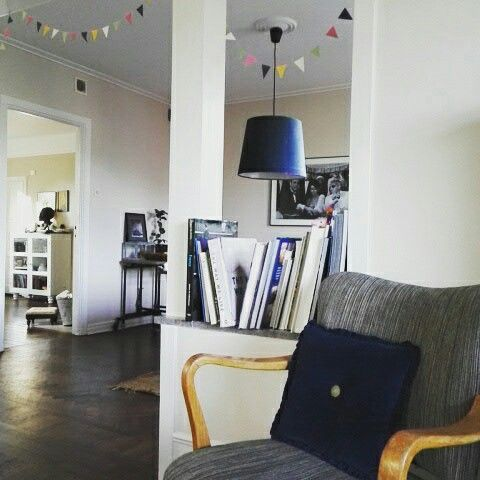 Living room & dining room. #home #maison #casa