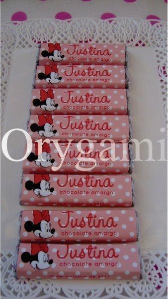Cumpleaños Justina 1 año temática Minnie