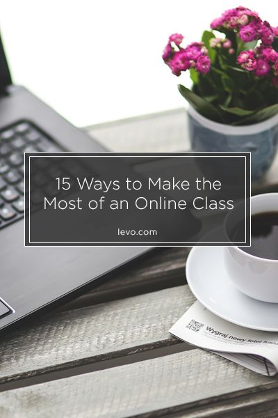 More than just staring at the computer.. make the best out of an online class
