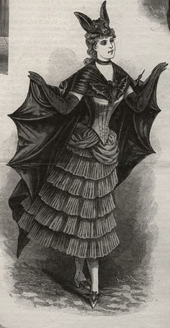 "Victorian Halloween costume. I have ambitions to do period ""fancy"" or masquerade dress someday."