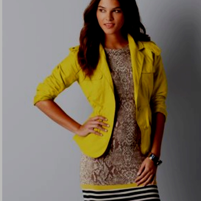 Love the dress with this jacket.