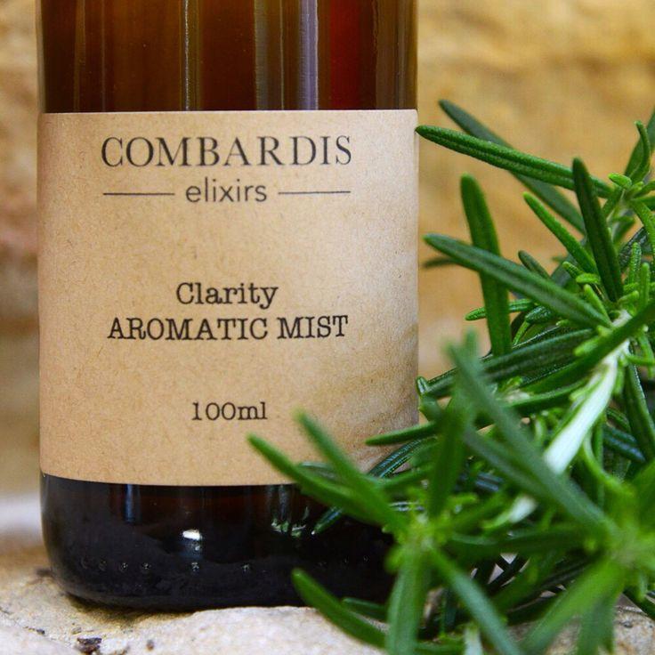 Clarity essential oil mist