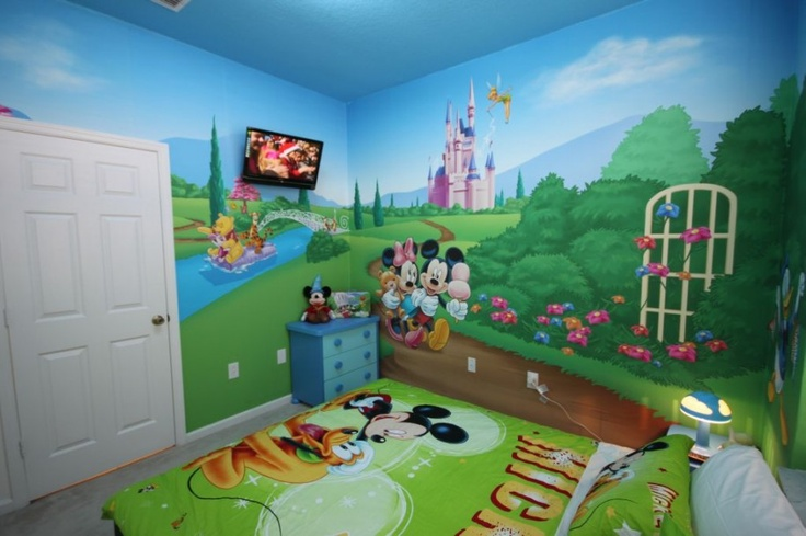 Mickey mouse clubhouse bedroom playroom ideas - Mickey mouse clubhouse bedroom decor ...