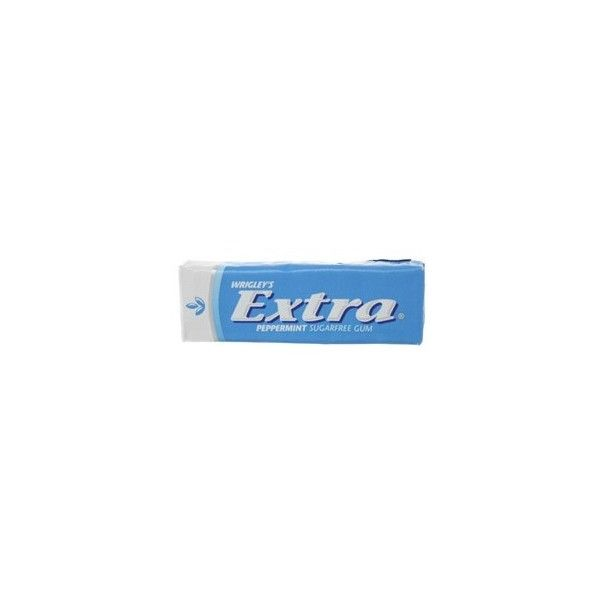 Extra Chewing Gum ❤ liked on Polyvore featuring fillers, food, accessories, blue fillers and food and drink