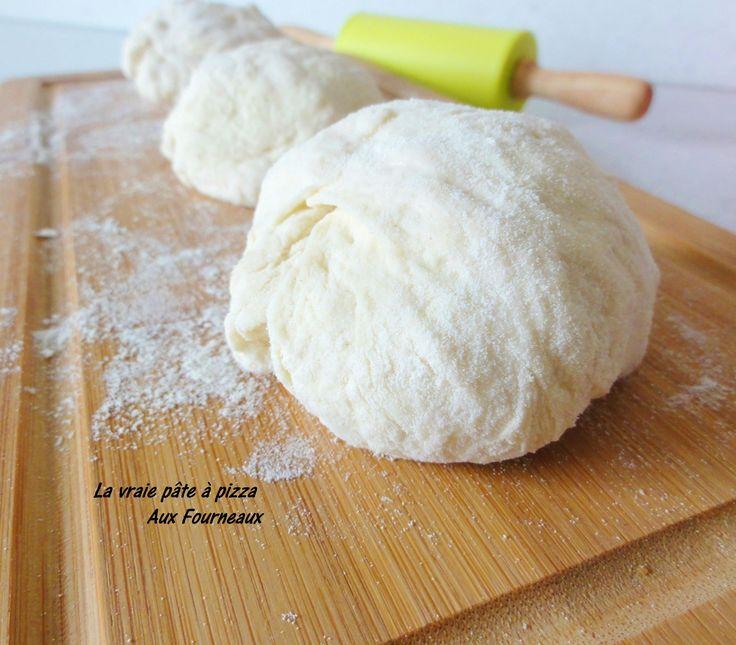 La vraie pâte à pizza | Aux Fourneaux