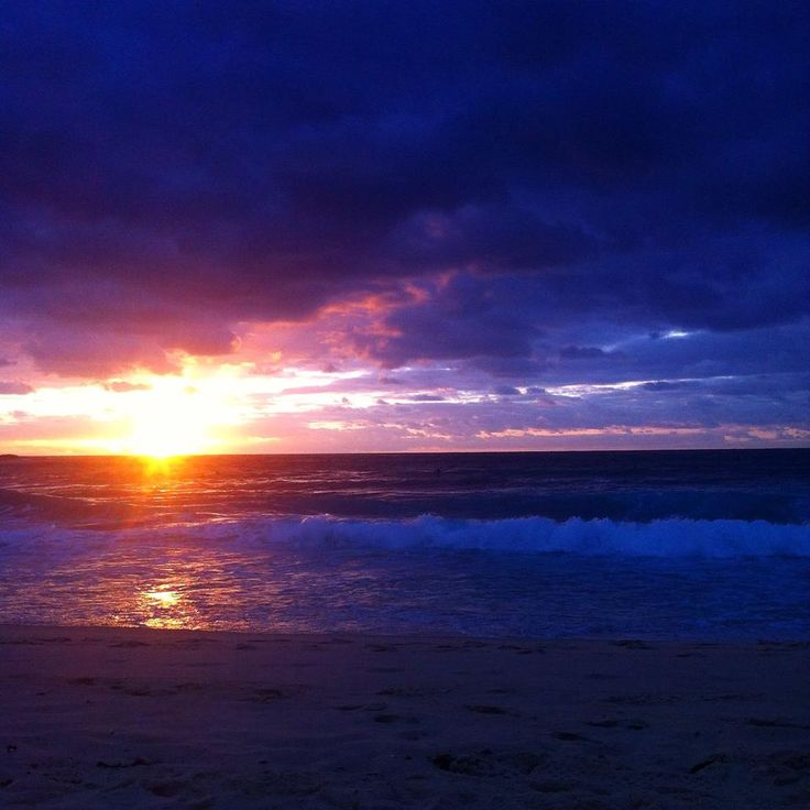 Colourful Sunrise at Bondi.