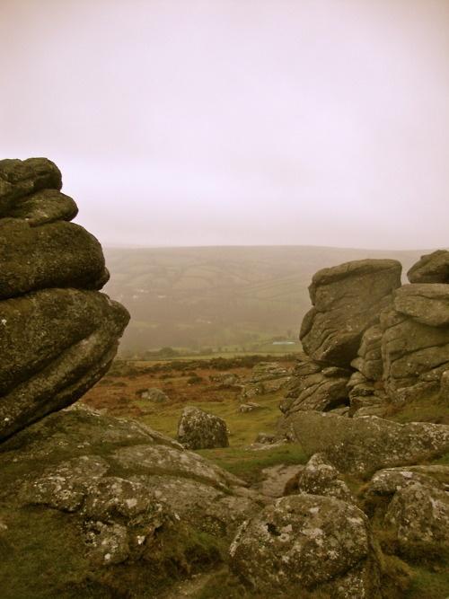 Dartmoor, Devon, and that infamous Dartmoor fog.