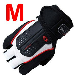 Power Strong Fitness Gym Gloves Barbell Weight Lifting Dumbbell Crossfit Training Bodybuilding Fingerless Half Finger Gloves