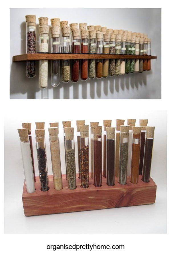 Crazy Gorgeous Handmade Spice Rack Ideas Spice Rack Spice Storage Wall Spice Rack