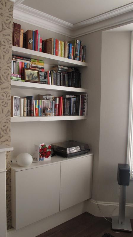 78 Images About Open Shelves On Pinterest: 78 Best Images About Lounge Shelving And Alcove Ideas On