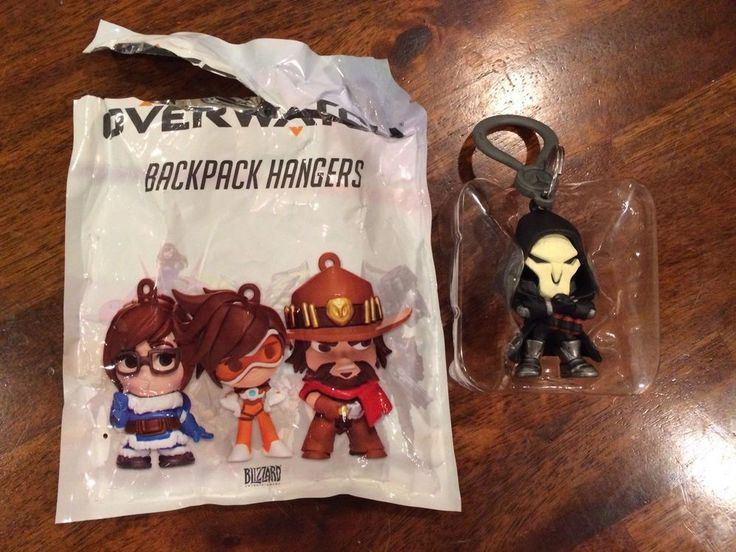 Blizzcon 2017 Cute But Deadly Overwatch Edition Reaper Figure Backpack Hanger #Blizzard