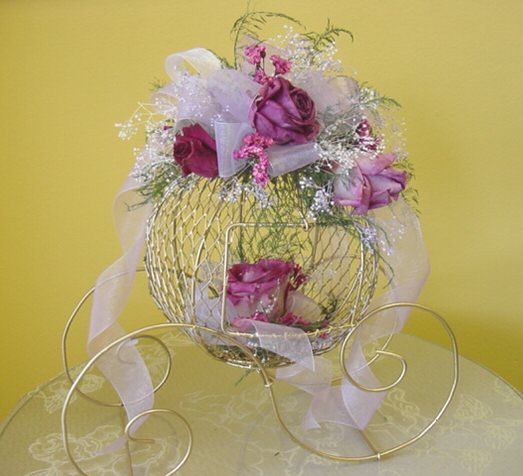 Vintage Fairytale Centerpiece. Cinderella by MimosasDesigns
