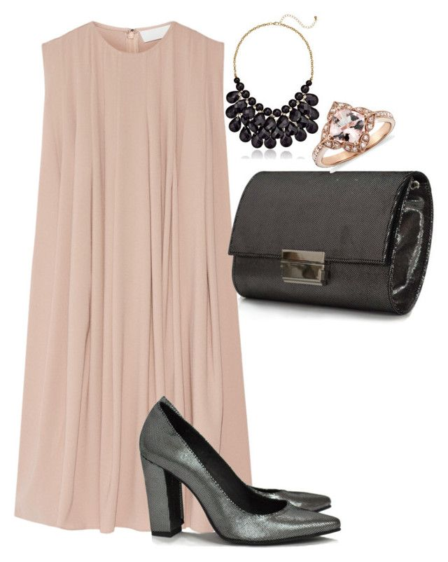 """Giuka's Mix & Match Stiletto Shoes and Glossy Grey Clutch Bag"" by giuka on Polyvore"