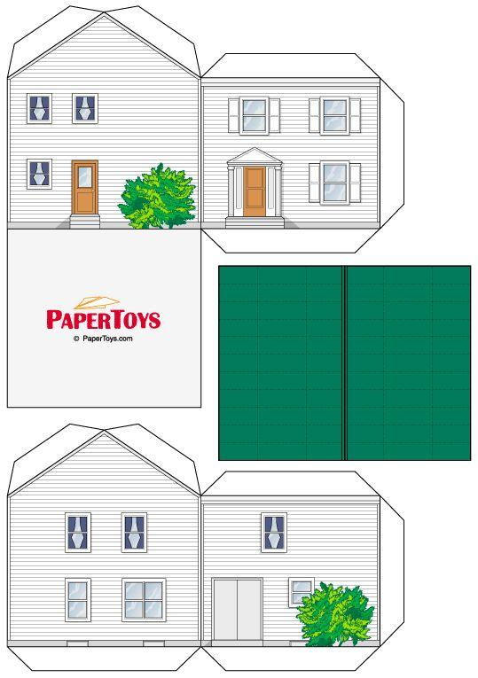 Caixas em formato de Casinha para Imprimir - CALLY'S DESIGN-Kits Personalizados…