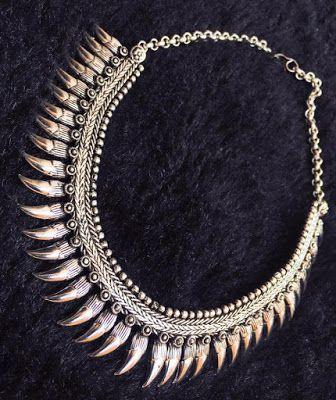 New arrivals German silver necklaces | Buy online Silver Jewellery | Elegant Fashion Wear