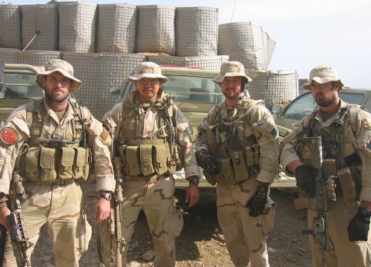 SEALs Mike Murphy James Suh Matt Axelson And Marcus