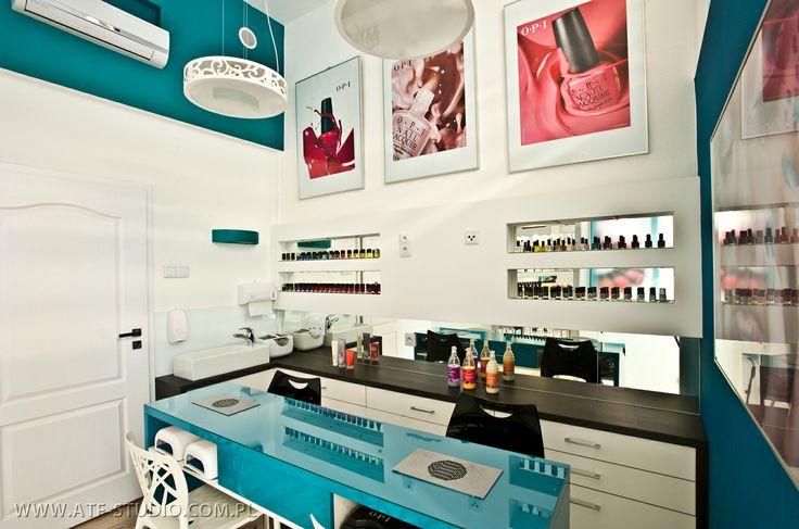 Fotografia wnętrz , salon kosmetyczny