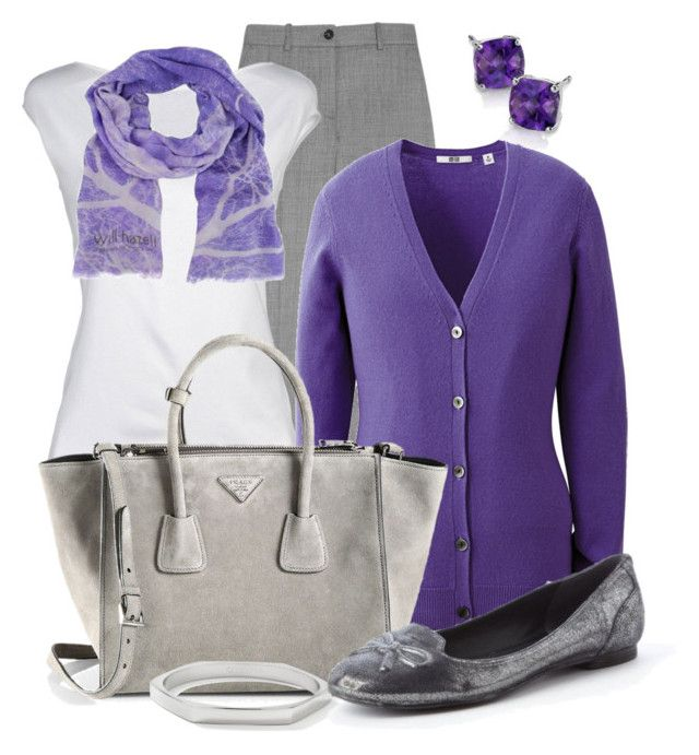 """""""2/23/14"""" by regatta-1 ❤ liked on Polyvore featuring Michael Kors, Ralph Lauren Black Label, Uniqlo, Prada, Blue Nile, C. Wonder, Mercy Delta and belle by Sigerson Morrison"""